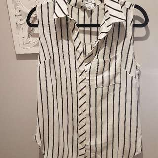 Nordstrom Stripe Shirt Large