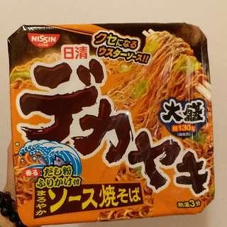 日清DEKAYAKI濃厚炒蕎麥麵