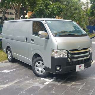 BN TOYOTA HIACE - FOR LEASE