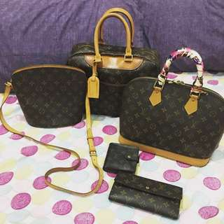 AUTHENTIC LV bags and wallets
