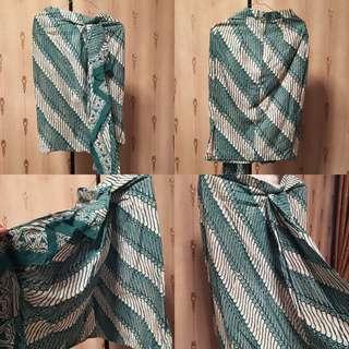 batik rok tosca