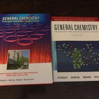 General Chemistry Principles And Modern Applications W/ Solutions Manual