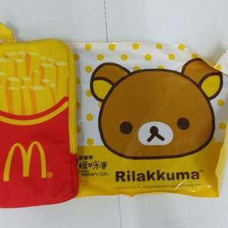 全新麥當勞枱墊+手機袋
