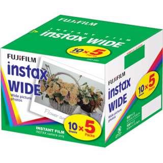 instant color film instax WIDE KR 5 [50 shots taken in 10 packs 5 packs]