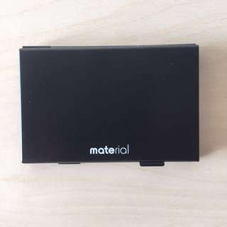 Material SD Card Holder Case