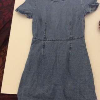 Dotti Denim Dress Size 8