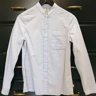 Timdarland 休閒質感襯衫 棉質/水藍