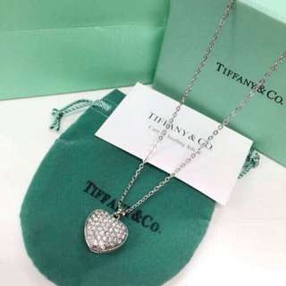 Tiffany & Co. Inspired Stainless Steel Necklace
