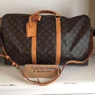 AUTHENTIC PREOWNED LOUIS VUITTON KEEPALL BANDOULIERE 50