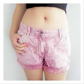 ESPRIT Faded Maroon Shorts