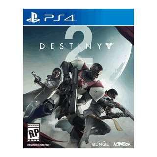 天命2 Destiny 2 (PS4 - 中英文首批行版)