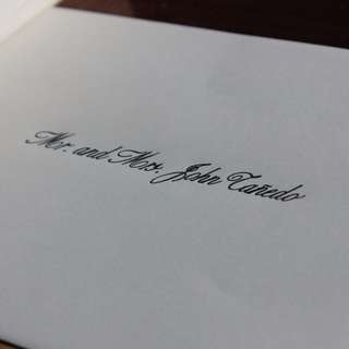 Calligraphy For Debut, Events, Wedding Invitations