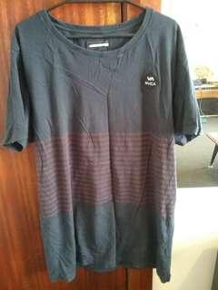 RVCA t shirt size lrg