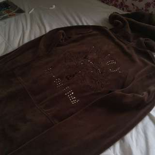 AUTHENTIC JUICY COUTURE VELVET JACKET