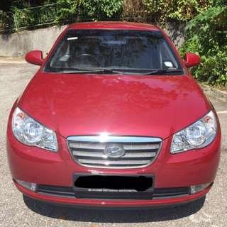 $300 weekly Hyundai Avante for Grab/Uber Usage