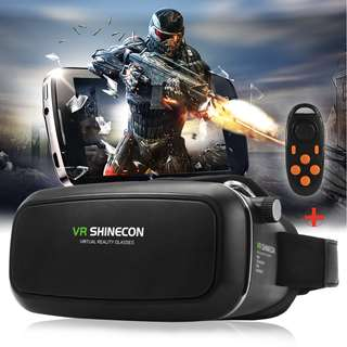 VR Virtual Reality 3d Glasses For Iphone /Samsung 3.5 ~ 6 Inch Smartphone 2016 Shinecon