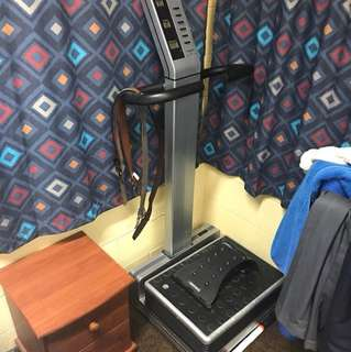 Commercial grade vibration workout machine