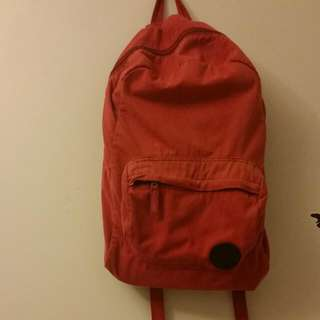 Mossimo Red Backpack