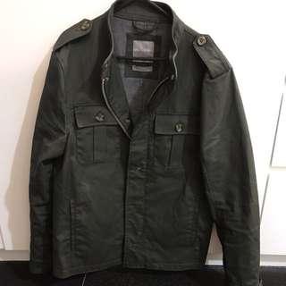 Zara Khaki Coat