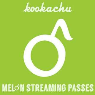 melon 멜론 streaming passes