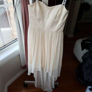 Forever new Strapless Dress in size 6