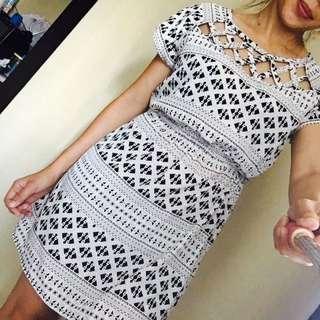 Forever 21 crisscrossed dress