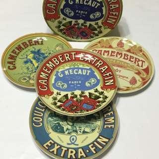 Pajangan Piring French plates - Decor Set