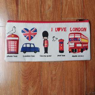 BN 'I Love London' Pencil Case