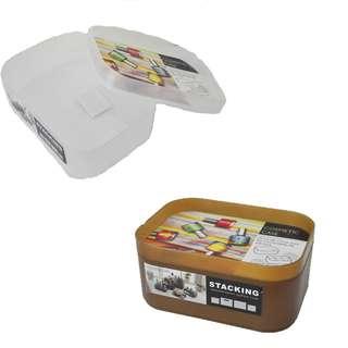 Plastic Cosmetic Case Organizer Storage