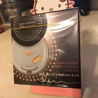 BeautyMaker全新魚子緊緻完美觸控氣墊粉餅-自然