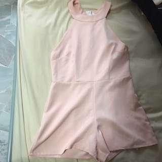 INSTOCK Pastel Pink Romper