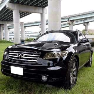 2005年 FX35 黑色94霸氣
