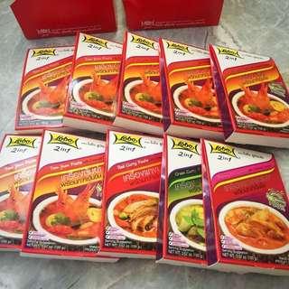 泰國直送 LOBO泰式冬陰功湯底 各款咖喱