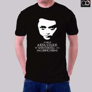 Game of Thrones Tshirt for Men - Arya Stark