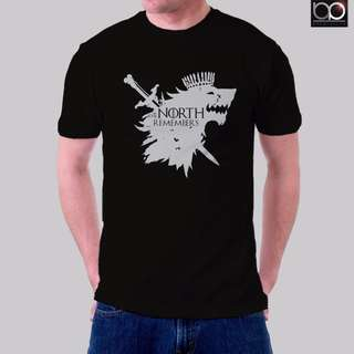 Game of thrones Tshirt for Men - The North Remember
