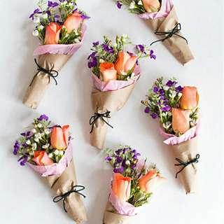 Menerima Tempahan Bouquets