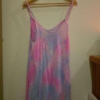 Tie Die Reverse Dress