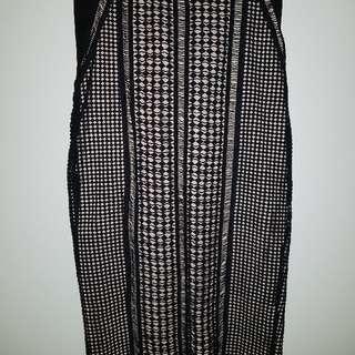 Bardot Lace Pencil Skirt