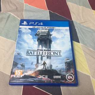 PS4 Game Star Wars Battlefront 中文版