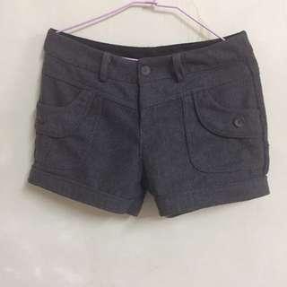 灰色短褲(冬天)#女裝九九出清