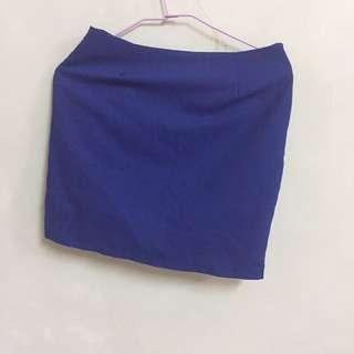 藍色窄裙  #夏日九九出清#女裝九九出清