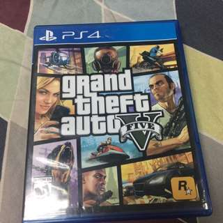 PS4 Game GTA V