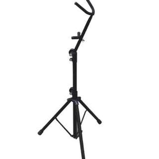(僅郵局寄出)中音薩克斯風直立式架 展示架 薩克斯風架 中音/次中音皆可用 可站立演奏