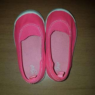 Gap Neon Pink Shoes - 16 cms