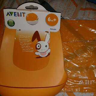 AVENT BIB WITH FREE MAT