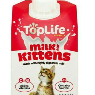 TOP LIFE - MILK FOR KITTENS 200ML