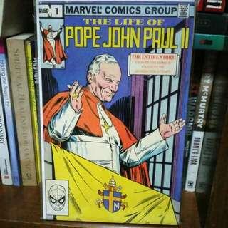Pope John Paul II Marvel Comics