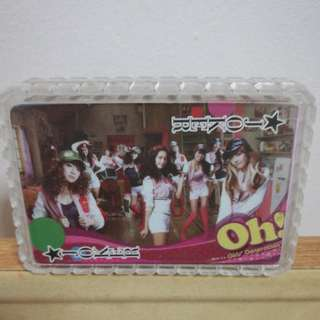 Girls Generation Poker Card (SNSD)