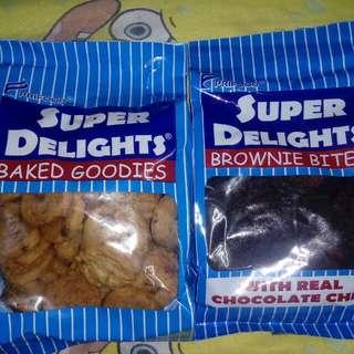 SUPER DELIGHTS MINI COOKIES & BROWNIE BITES