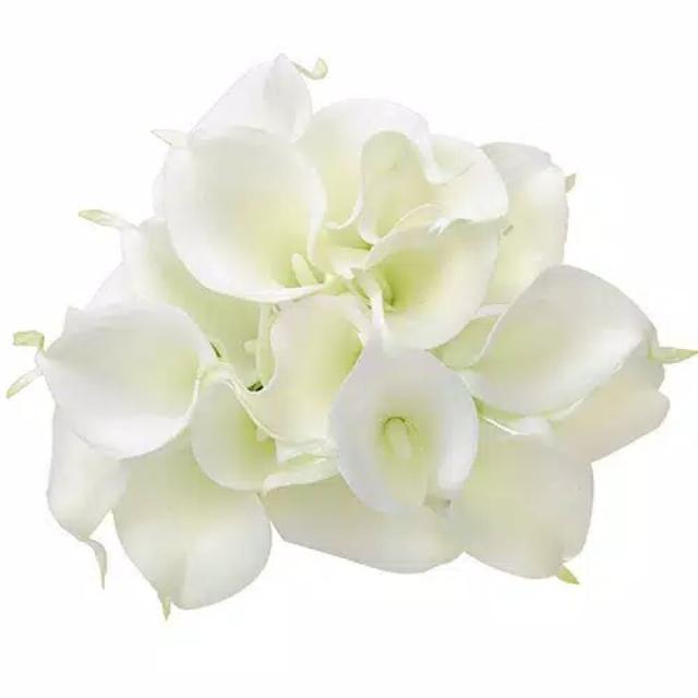 1 Buket Bunga Lily Utk Hadiah, Dekor Rumah, Dll